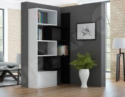 regal fate standregal bücherregal wohnzimmer weiß schwarz