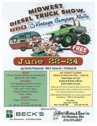 Midwest Diesel Truck Show, BBQ & Vintage Camper Rally - Tin Can Tourists