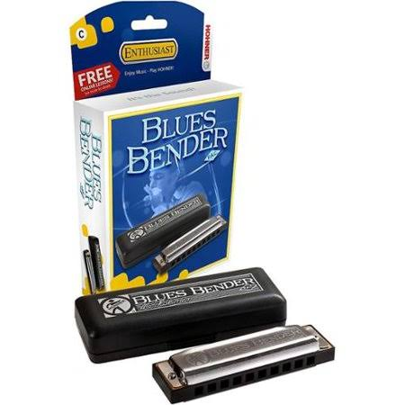 Hohner Blues Bender Harmonica - in Chrome