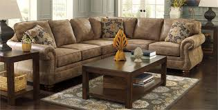 Ashley Furniture Larkinhurst Sofa by Larkinhurst Earth Large Sectional Sleeper By Signature Design