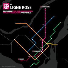 100 Lignet Rose Avec La Ligne Rose Valrie Plante Propose Un Plan De Mobilit