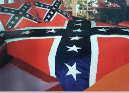 confederate rebel flag king queen comforter set 90x100