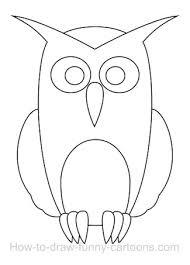 Drawing An Owl Cartoon