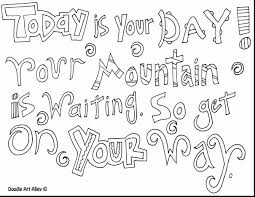 Great Dr Seuss Quotes Coloring Pages With Suess And