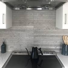 Tuscany Classic 4x4 Tumbled Tile Stone Backsplash