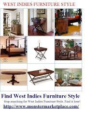 British West Indies Furniture