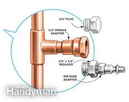 Replacing Outdoor Faucet Valve by How To Install An Outdoor Faucet Family Handyman