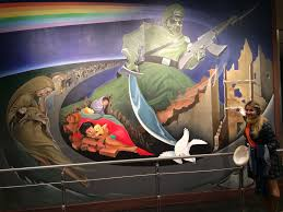Denver International Airport Murals Illuminati by Is Going On At The Denver Airport Mags On The Move
