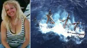 Hms Bounty Sinking 2012 by Pictured Claudene Christian Crew Member Who Died Alongside