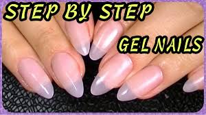 How To Oval Almond Shaped Stiletto Nails How I Do My Gel Nails