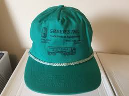 100 Truck Parts Specialists Vintage Baseball Cap Greers Inc Etsy