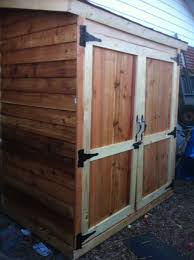 8x12 Storage Shed Materials List by Ana White Small Shed Diy Projects