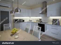 100 Www.homedecoration Beautiful Interior Apartment Kitchen Modern Style Stock