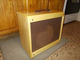 Empty 1x10 Guitar Cabinet by 1x10 Trm Extension Guitar Cabinet 110 Vintage Tweed Style Reverb