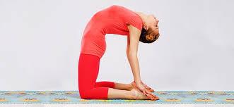 Ustrasana Camel Pose Sitting Yoga Asana