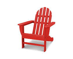 POLYWOOD AD4030SR Classic Outdoor Adirondack Chair, Sunset Red Black Resin Adirondack Chairs Qasynccom Outdoor Fniture Gorgeus Wicker Patio Chair Models With Fish Recycled Plastic Adirondack Chairs Muskoka Tall Lifetime 2pack Poly Adams Mfg Corp Stackable Plastic Stationary With Gracious Living Walmart Canada Rocking