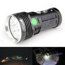 led flashlights led flashlight ultrafire 8xt6 5000lm 8x cree xm