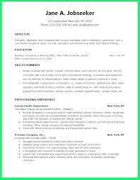 Nursing Student Resume Graduate Samples Sample Of Nurse