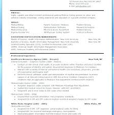 Resume For Medical Coder Examples Of Objectives Billing And Coding Sample