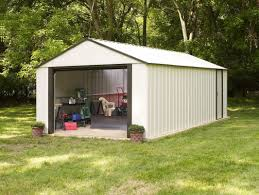 Arrow 10x12 Shed Assembly by Arrow Murryhill 12 Ft W X 24 Ft D Metal Garage Shed U0026 Reviews