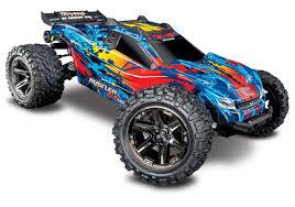 100 Best Rc Stadium Truck Traxxas 670764 Rustler 4X4 VXL Monster Robs RC Hobbies
