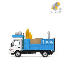 100 Demolition Truck Tiny City 145 Diecast Model Car Hino 300