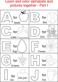 Alphabet Coloring Pages Pdf Alphabets Printable For