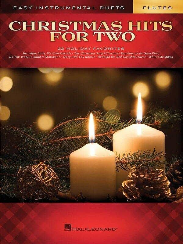 Hal Leonard Christmas Hits for Two Flutes: Easy Instrumental Duets Music Sheet