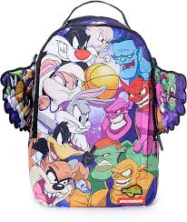 100 Space Jam Foams Sprayground Good Vs Evil Backpack