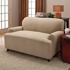 Sure Fit Stretch T Cushion Sofa Slipcover by Decorating Grey Sofa Using Walmart Slipcovers With Pillow For