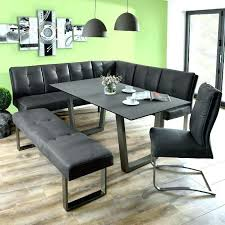 Dining Table With Bench Simple Room Surprising Corner Set