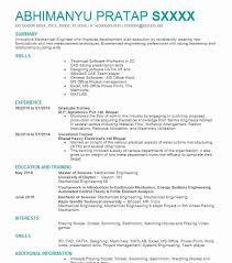 Graduate Trainee Resume Sample