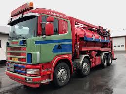 100 Septic Vacuum Trucks For Sale SCANIA R124GB8X2B Vacuum Trucks For Sale Portable Restroom Truck