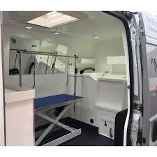 K9 Independence Mobile Grooming Van Conversion