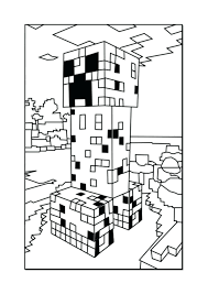 Minecraft Color Codes Generator Coloring Book For Adults Creeper Pages Free Printable Print Squared Full