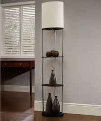 Floor Lamps At Walmart Canada by White Oval Shelf With Ivory Shade Walmart Canada