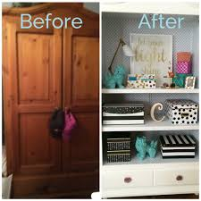 Raymour And Flanigan Desk With Hutch by Black White And Chic All Over Teen Bedroom Makeover