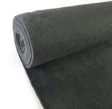 5 Yard Dark Gray Upholstery Un Backed Automotive Trim Carpet 40x15 Ft Roll New