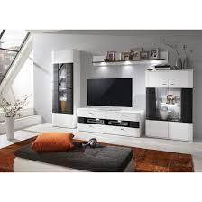 anzani wohnwand in weißer hochglanz optik porta wohnen
