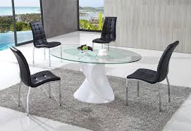 Fantastic Frosted Glass Dining Tables Room Table Beautiful And Cozy Set