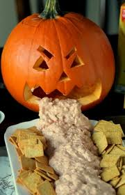Picture Of Pumpkin Throwing Up Guacamole by 5 Fun U0026 Easy Halloween Inspired Treats Good Eats Livingly