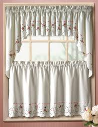 Jcpenney White Lace Curtains by Striped Kitchen Curtains Jcpenney Sensational Jcp Sears And