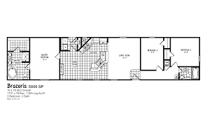1997 16x80 Mobile Home Floor Plans by Red Tag Clearance Oak Creek Homes