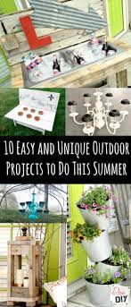 10 Easy And Unique Outdoor Projects To Do This Summer | Diva Of DIY Backyard Diy Projects Pics On Stunning Small Ideas How To Make A Space Look Bigger Best 25 Backyard Projects Ideas On Pinterest Do It Yourself Craftionary Pictures Marvelous Easy Cheap Garden Garden 10 Super Unique And To Build A Better Outdoor Midcityeast Summer Frugal Fun And For The Gracious 17 Diy Project Home Creative