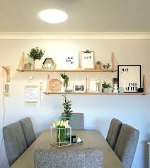 Floating Shelves Dining Room Architecture Stylish Shelf Inspiration In 6 From