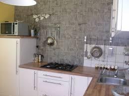 papier peint cuisine gris papier peint dajeuner blanc gris galerie avec papier peint