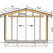 8 X 10 Gambrel Shed Plans by Bajek 10 X 12 Gambrel Shed Plans 16x20 Canvas Details