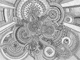 Printable Mandala Coloring Pages Complicated With Complex Throughout For Adults