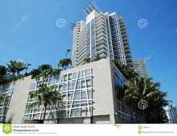 100 Miami Modern Style Stock Image Image Of Palms Architecture 13894711