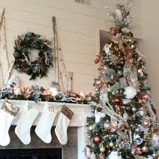 Backdrops 7x5FT White Room Christmas Tree Fireplace Photography